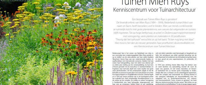 EDEN magazine 65 – herfst 2019 / EDEN magazine – automne 2019