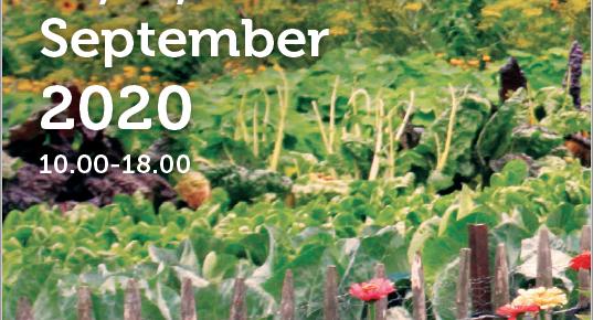 Hex Garden Festival – affiche en  flyer