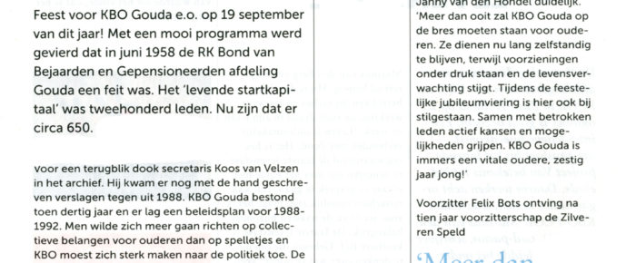 Magazine KBO-PCOB dec/jan 2018/2019 – katern Zuid-Holland