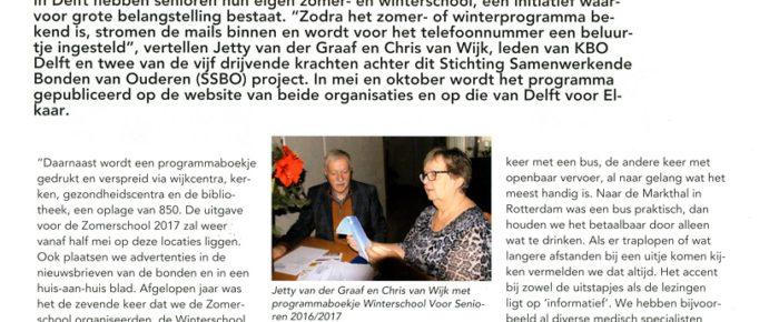 Nestor nr. 3 – maart 2017 – katern KBO Zuid-Holland