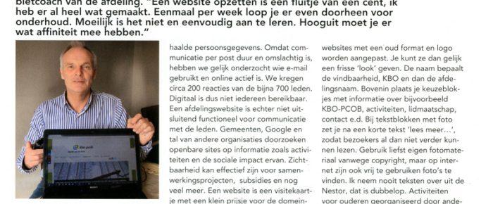 Nestor nr. 6 – juni 2017, katern KBO Zuid-Holland