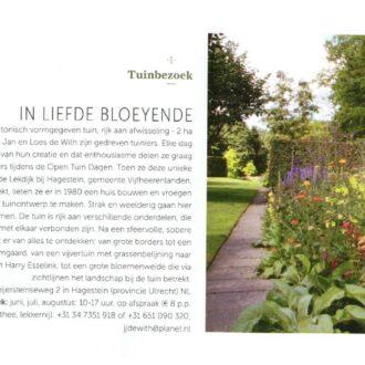 Stijlvol Wonen april-mei 2021 – Tuinbezoek