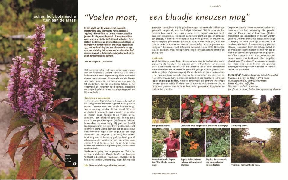 Tuinjournaal - maart 2014
