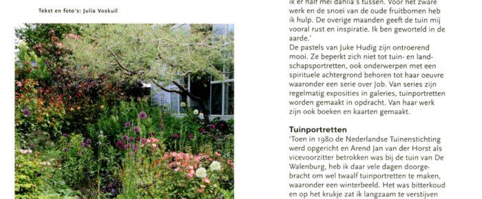 Tuinjournaal nr. 2 – 2019  Thema: 'De tuin als muze'