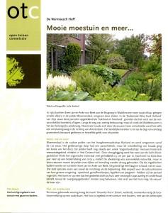 Tuinjournaal sept -Warmoesch Hoff