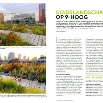 Tuinjournaal september 2021 – thema: Groen erfgoed in de stad