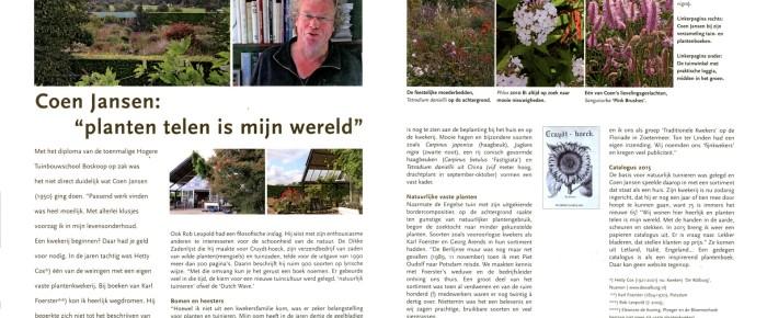 Tuinjournaal – winter 2014-2015